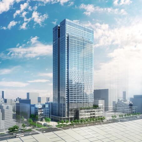 東京ミッドタウン八重洲 完成予想イメージ