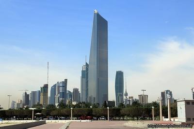 クウェートの超高層ビル群