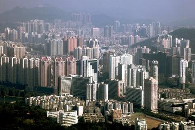 Shun Hing Squareからの眺め