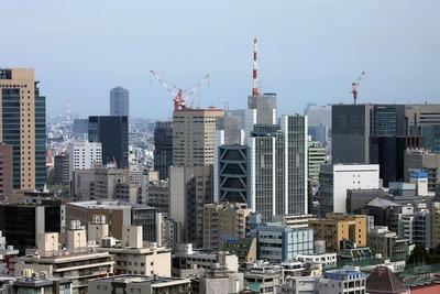 文京シビックセンターから御茶ノ水ソラシティが建つ場所