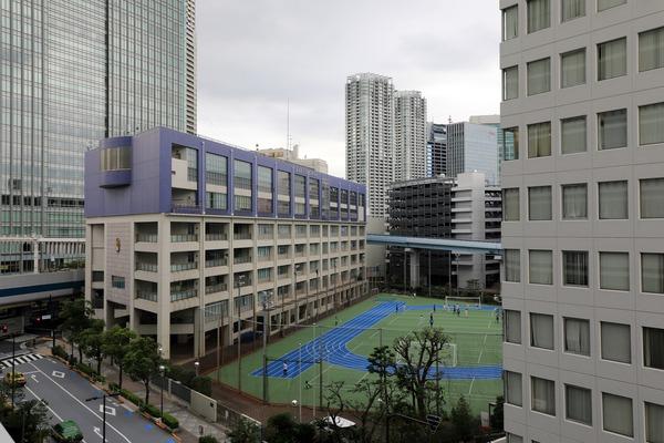 東京ポートシティ竹芝オフィスタワー 3階からの眺め