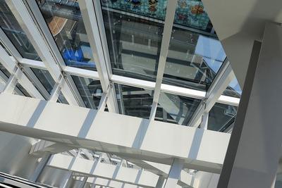 あべのハルカス近鉄本店タワー館の階段