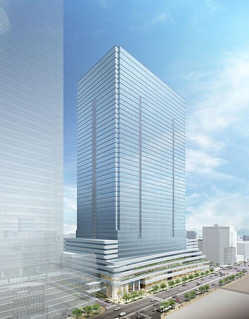 八重洲二丁目中地区第一種市街地再開発事業 外観イメージパース