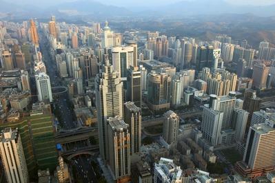摩天楼都市 深セン