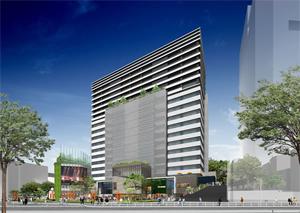 (仮称)渋谷宮下町計画の完成予想図