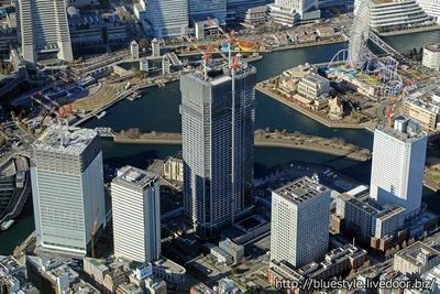 ザ・タワー 横浜北仲の空撮