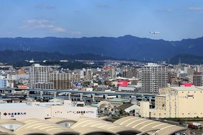 博多ポートタワーからの眺め