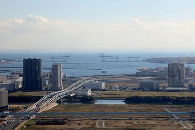 スカイリンクタワーから東京港臨海大橋