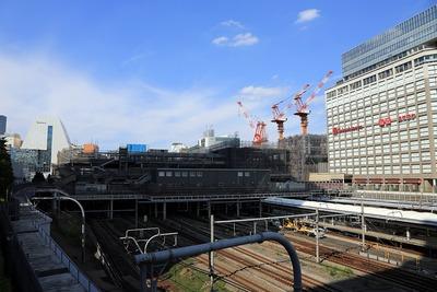 新宿駅新南口ビル(仮称)と新宿交通結節点