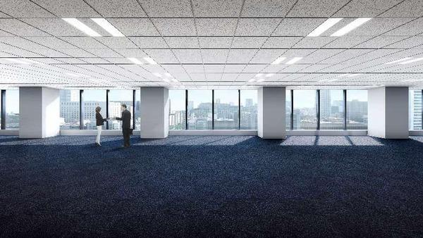 (仮称)大阪三菱ビル建替え計画 オフィスフロア