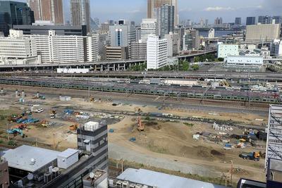 JR品川車両基地跡地開発(第�期)