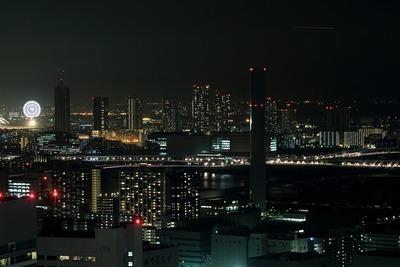 世界貿易センタービルから東雲方面の夜景