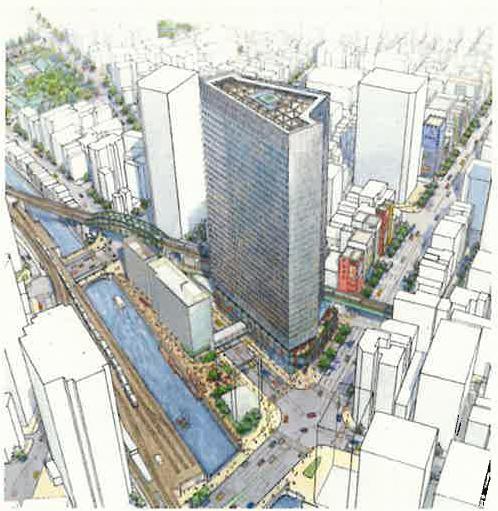 外神田一丁目1・2・3番地区第一種市街地再開発事業 イメージパース