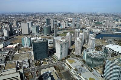 みなとみらいと横浜の超高層ビル群