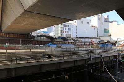 東横線の旧渋谷駅