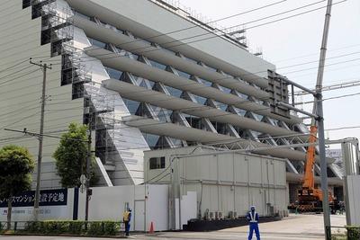 解体中の旧バンダイナムコ未来研究所
