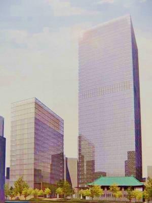 ホテルオークラ東京の建替えイメージ