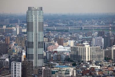 ブリリアタワー東京からイーストコア曳舟二番館