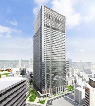(仮称)赤坂二丁目プロジェクト 完成予想図