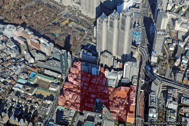 新宿三丁目西地区第一種市街地再開発事業