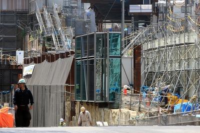 六本木三丁目東地区第一種市街地再開発事業のモックアップ