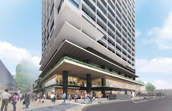 立石駅北口地区第一種市街地再開発事業 西街区・マンション低層部
