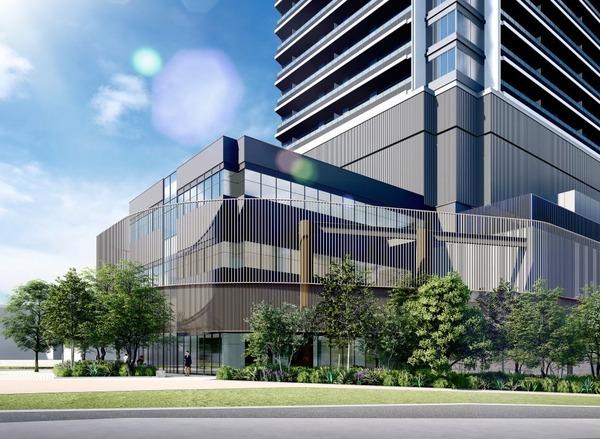 南池袋二丁目C地区第一種市街地再開発事業 南側から見たイメージ