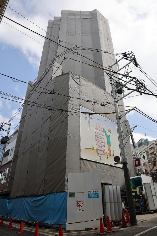 (仮称)渋谷道玄坂Gタワー新築工事