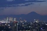 夜景と富士山