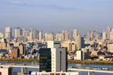 船堀駅前トキタワーから富士山