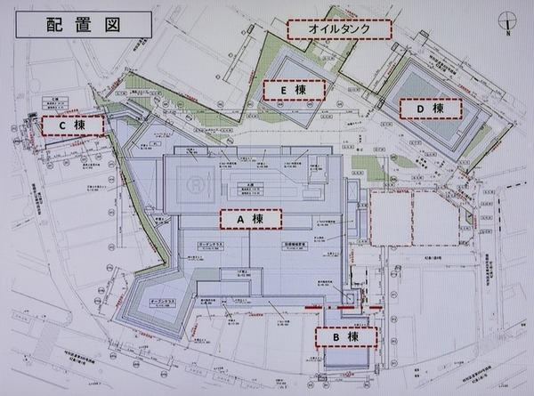 (仮称)渋谷区道玄坂二丁目開発計画 配置図