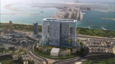 ドバイ・パール(Dubai Pearl)の完成予想図