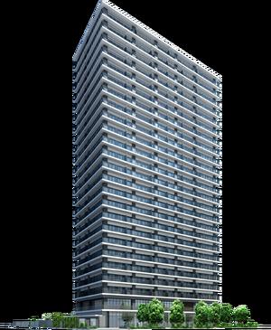 アルファグランデ千桜タワー 完成予想図
