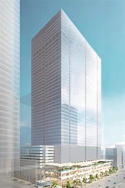 八重洲二丁目中地区第一種市街地再開発事業 イメージパース