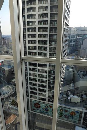 あべのハルカス近鉄本店タワー館14階からの眺め