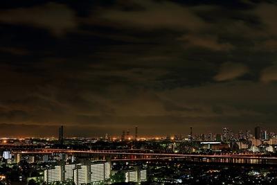 東雲・辰巳方面の夜景