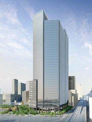 赤坂一丁目地区第一種市街地再開発事業 完成予想図