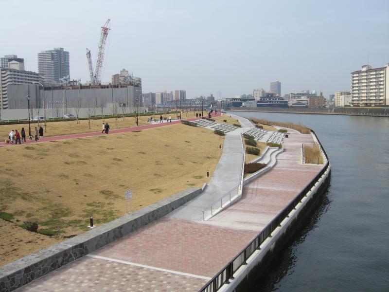 千住汐入大橋が開通しました : ...