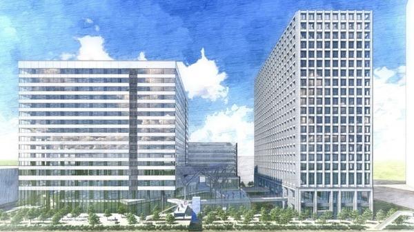 (仮称)豊洲4-2街区開発計画 イメージパース