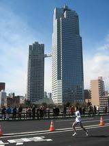 聖路加ガーデンと東京マラソン