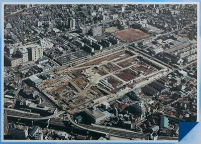 建設中のサンシャイン60(1973年12月)