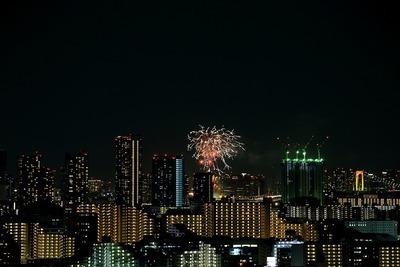 お台場レインボー花火2013