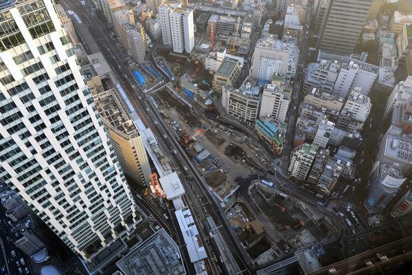 渋谷スカイから見た(仮称)渋谷駅桜丘口地区第一種再開発事業