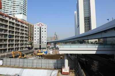 鈴与竹芝ビル ホテル新築工事