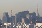 東京タワーと丸の内