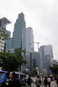 韓国の超高層ビル