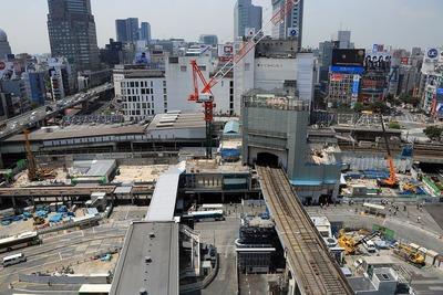 渋谷駅街区開発計画