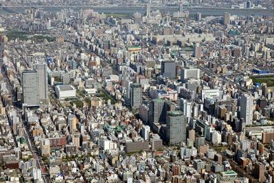 空撮 錦糸町
