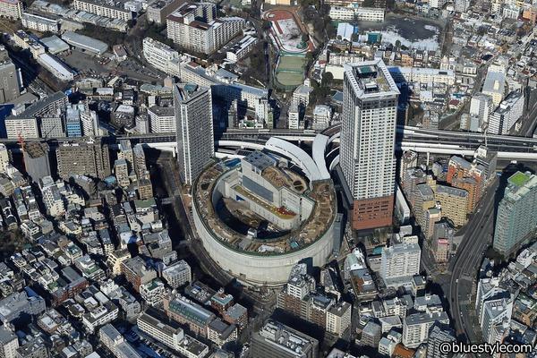 大橋JCTとクロスエアタワー