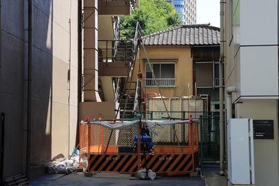 虎ノ門9森ビル隣の地質調査